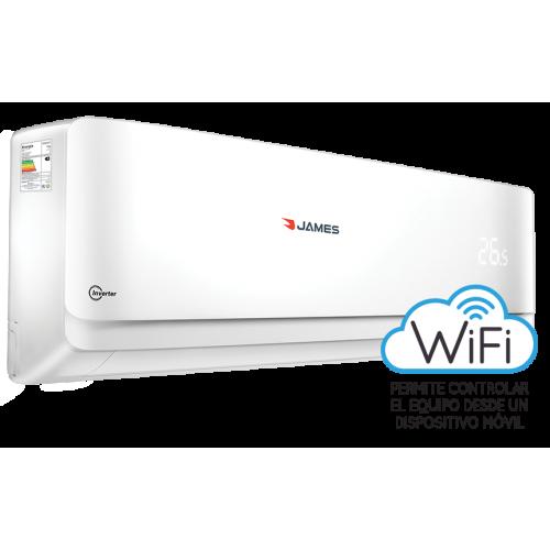 Acondicionador de aire james inverter 12000 aam-12 fco inv  ● funciónes: auto (frío/calor)