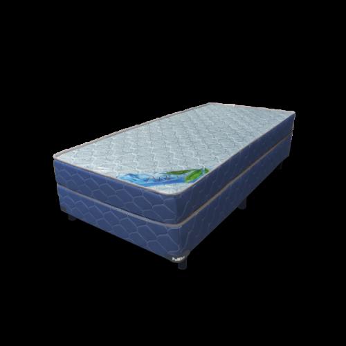 Set colchon + box poliflex aqua 90 190 17