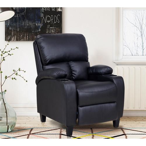 Sofa recliner 1 cuerpo negro