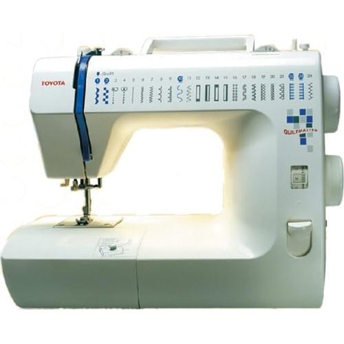 Maquina de coser toyota eco026cp doble aguja 23 puntadas