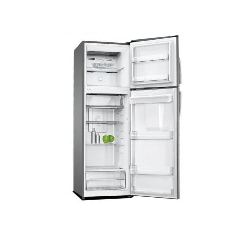 Heladera con Freezer y dispensador XION XI-HNF270DX  FRIO SECO. 249Lts Ef. A.  Puertas reversibles