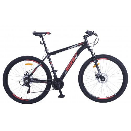 Bicicleta hombre r 29 kova tibet freno disco negro mate talle m y l
