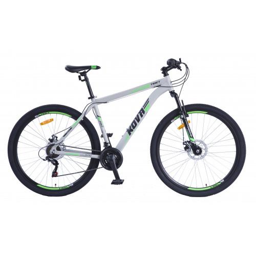 Bicicleta hombre r 29 kova tibet freno disco gris mate talle m y l