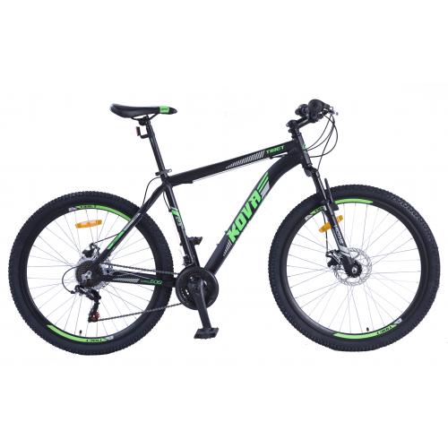 Bicicleta hombre r 27.5 kova tibet freno disco negro mate talle m y l