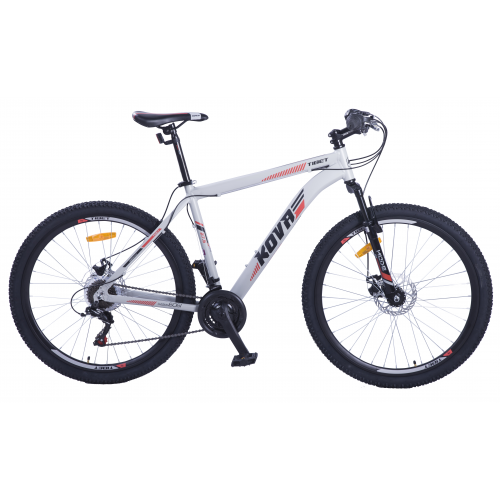 Bicicleta hombre r 27.5 kova tibet freno disco gris mate talle m y l