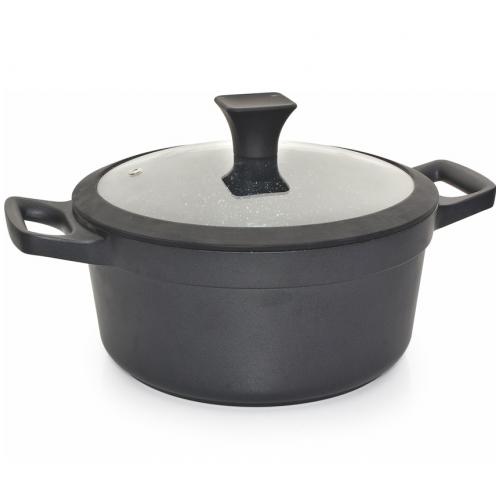 "Cacerola 28cm con antiadherente modelo ""nero"""