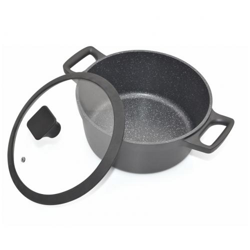 "Cacerola 24cm con antiadherente modelo ""nero"""