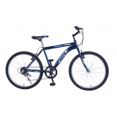 Bicicleta niño r 24 kova andes 6 vel. azul perlado